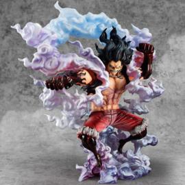 Megahouse - One Piece Excellent Model P.O.P PVC Statue 1/8 SA-Maximum Monkey D. Luffy Gear 4 Snake Man 26 cm