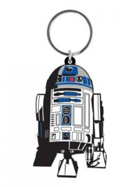 Star Wars - R2-D2 Rubber Keychain