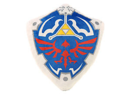 Zelda: Hylian Shield Plush pillow
