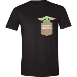 Star Wars The Mandalorian T-Shirt The Child Pocket