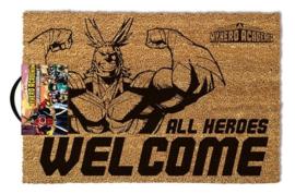 Deurmat - MY HERO ACADEMIA ALL HEROES WELCOME