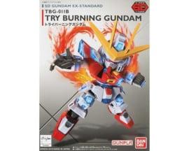 Gundam: SD EX-Standard 0011 - Try Burning Gundam