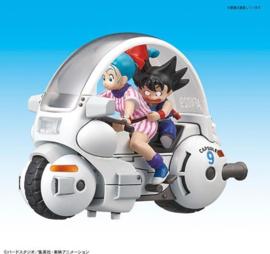 Dragon Ball: Mecha C. - Vol.1 Bulmas Capsule No.9 Motorcycle Model Kit