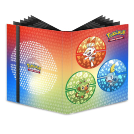 PRO-BINDER POK SWORD AND SHIELD GALAR STARTERS