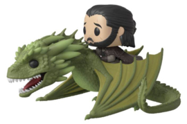 Funko Pop! Rides: Game of Thrones - Jon Snow & Rhaegal