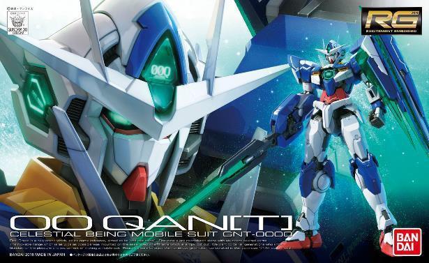 Gundam 00: Real Grade - QANT 1:144 Scale Model Kit