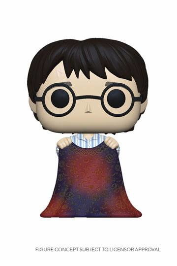 Funko Pop! Harry Potter POP! Movies Vinyl Figure Harry w/Invisibility Cloak 9 cm