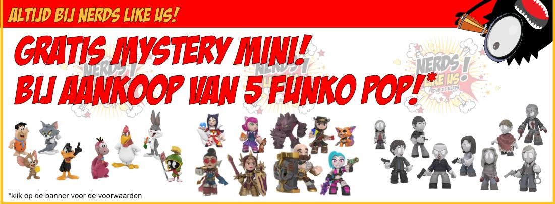 Mystery mini gratis bij 5 pops