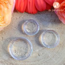 Standaard ring voor Edelstenen bollen