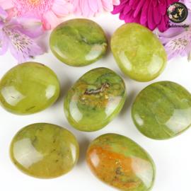 Groene Opaal Handsteen