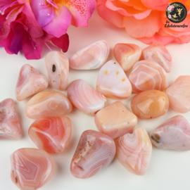 Abrikozen agaat trommelstenen Maat 1