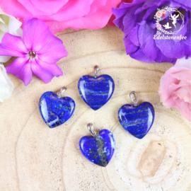 Edelsteen Hanger Lapis Lazuli Hart A+ kwaliteit