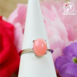 Roze Andes Opaal Ring ovaal AAA kwaliteit