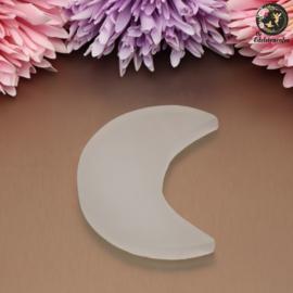 Seleniet maan plaat circa 8.5 cm