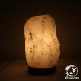 Himalaya Zoutlamp maat S Nieuwe Kleur: WIT!