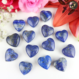 Lapis Lazuli Geslepen Hart ~ 2 cm