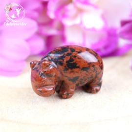 Mini CRYSTAL CRITTERS Nijlpaard