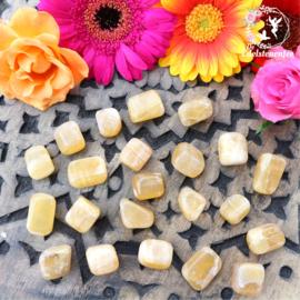 Honing Calciet trommelstenen Maat 1