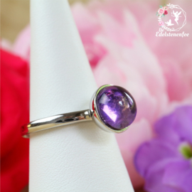 Amethist Ring Rond verstelbaar A+ kwaliteit