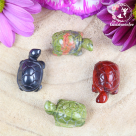 Mini CRYSTAL CRITTERS Land Schildpad