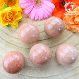 Roze Maansteen Bol
