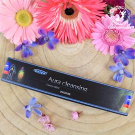 Aura Cleansing Green Mint Satya Nag Champa Wierook