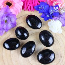 Zwarte Toermalijn ( Schörl ) A-kwaliteit handstenen maat 1