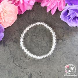 Kinder Armband Facet Bergkristal 4 mm