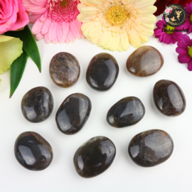 Zwarte Maansteen Amulet