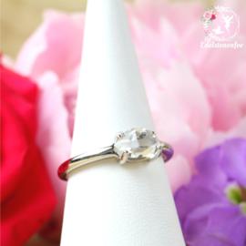 Herkimer Diamant Ring AA kwaliteit
