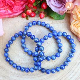 Lapis Lazuli kogelarmband 8 mm