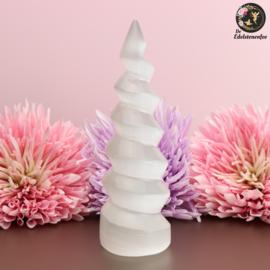 Seleniet spiraal toren circa 15 cm