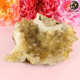 Limoniet Kwarts (Golden Healer) A kwaliteit cluster nr. 1