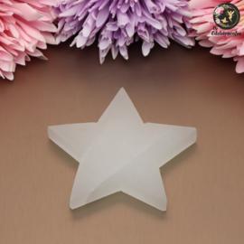 Seleniet ster plaat circa 8.5 cm