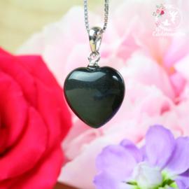 Obsidiaan Hanger Hart AA kwaliteit