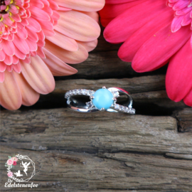 Ring LARIMAR .925 Sterling Zilver