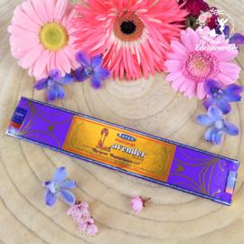 Lavender Natural Satya Nag Champa Wierook
