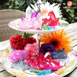 Candy Aura kwarts. Nieuw in de wereld van Kristallen.