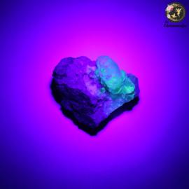 Hyaliet Opaal op Matrix nr. 18
