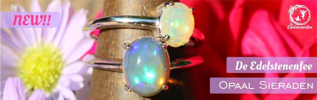 Nieuwe edelsteen sieraden binnen!