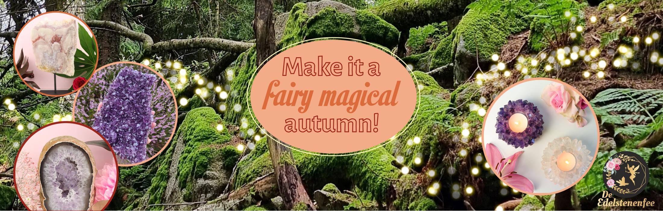 De Edelstenenfee voor de allermooiste kristallen! Breng de magie in huis met edelstenen!