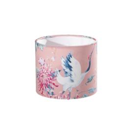 Pink Crane print