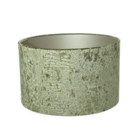 lampenkap Velvet Kroko Green