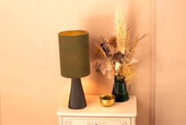 Tafellamp Grace noir/vert