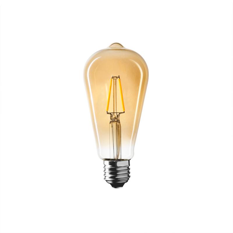 "WIVA Antique LED filament ST64 ""Edison"""