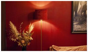 lampenkap 2520 velvet burgundy