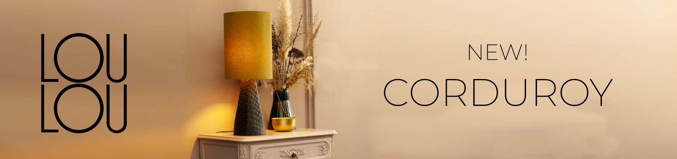 NEW! Corduroy