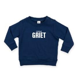 baby sweater met COOLE GRIET