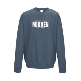 adult sweater met EIGEN QUOTE