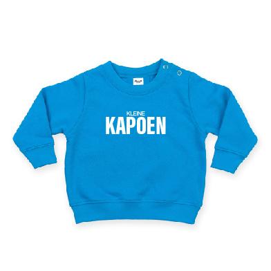 baby sweater met KLEINE KAPOEN
